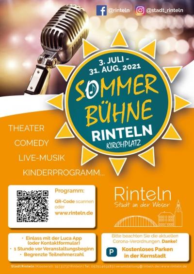 Rintelner Sommer-Bühne 2021