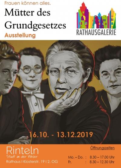 """Ausstellung """"Mütter des Grundgesetzes"""""""