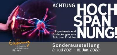 Achtung Hochspannung! Experimente und Entdeckungen vom Blitz zum E-Motor