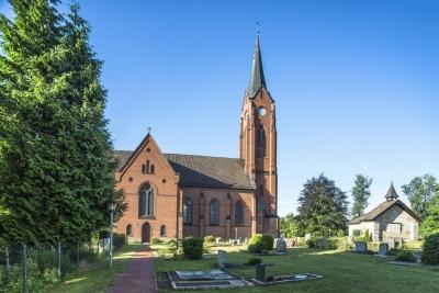 Gottesdienst in der ev.-luth. St.-Agnes-Kirche Steinbergen